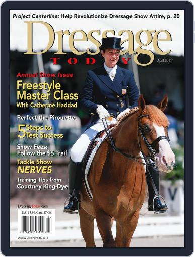 Dressage Today (Digital) March 29th, 2011 Issue Cover