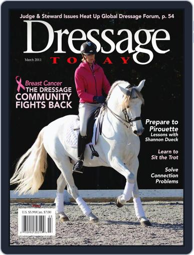 Dressage Today (Digital) February 22nd, 2011 Issue Cover