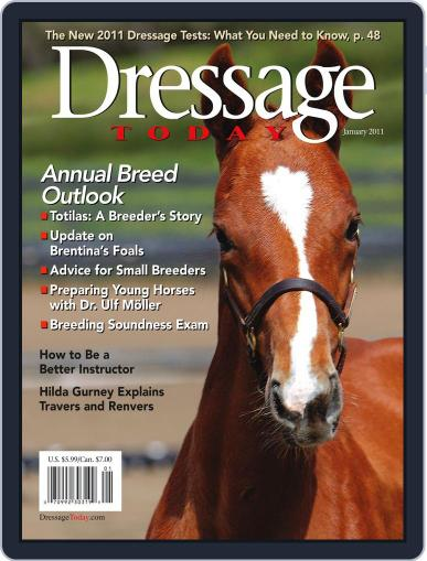 Dressage Today (Digital) December 15th, 2010 Issue Cover