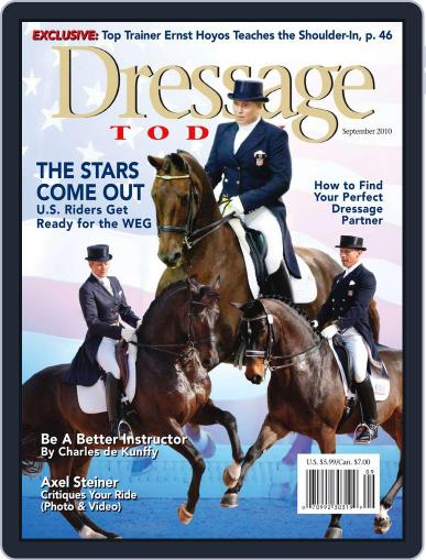 Dressage Today (Digital) August 15th, 2010 Issue Cover