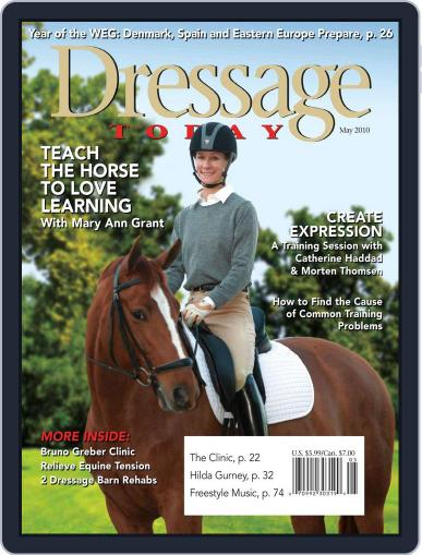 Dressage Today (Digital) April 15th, 2010 Issue Cover
