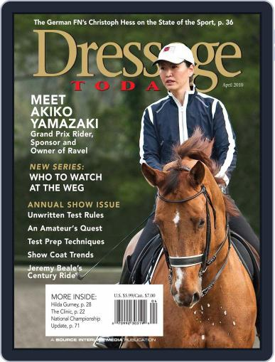 Dressage Today (Digital) March 19th, 2010 Issue Cover