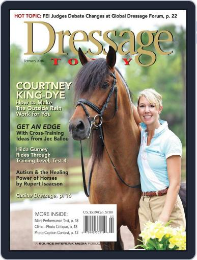 Dressage Today (Digital) January 12th, 2010 Issue Cover