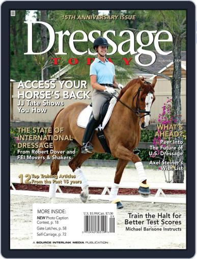 Dressage Today (Digital) August 25th, 2009 Issue Cover