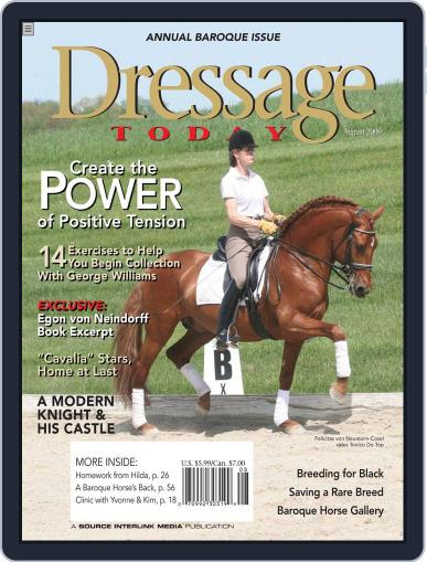 Dressage Today (Digital) July 28th, 2009 Issue Cover