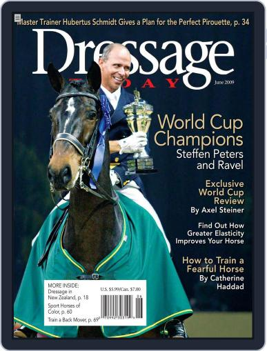 Dressage Today May 26th, 2009 Digital Back Issue Cover