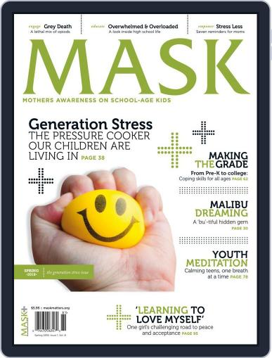 Mask The March 1st, 2018 Digital Back Issue Cover
