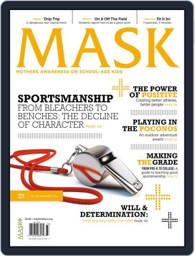 Mask The (Digital) August 7th, 2017 Issue Cover