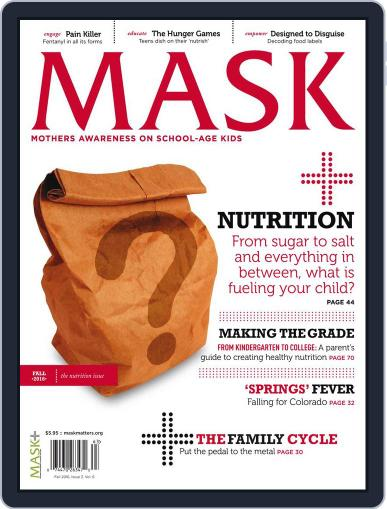 Mask The (Digital) September 1st, 2016 Issue Cover