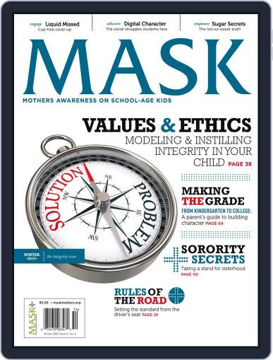 Mask The (Digital) November 21st, 2015 Issue Cover