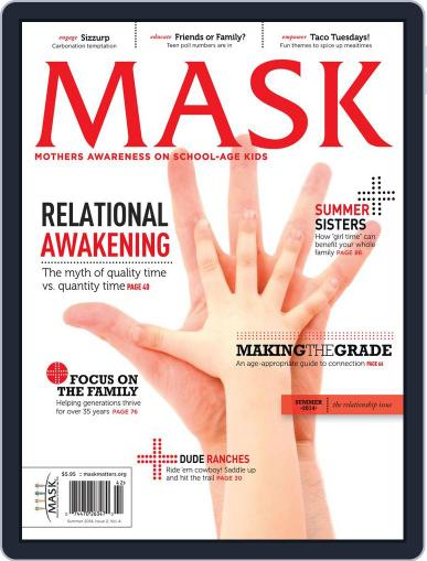 Mask The (Digital) October 1st, 2014 Issue Cover