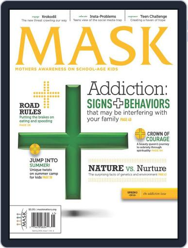 Mask The February 18th, 2014 Digital Back Issue Cover