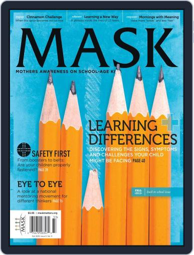 Mask The (Digital) September 25th, 2013 Issue Cover