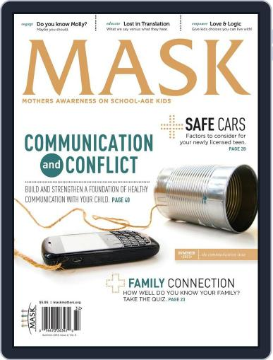Mask The (Digital) May 17th, 2013 Issue Cover