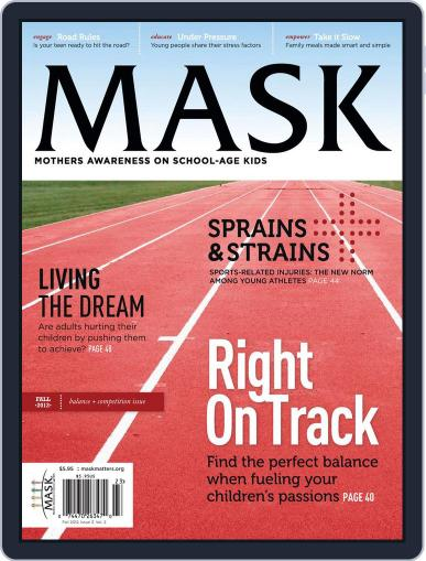 Mask The (Digital) August 15th, 2012 Issue Cover