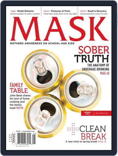 Mask The (Digital) February 23rd, 2012 Issue Cover