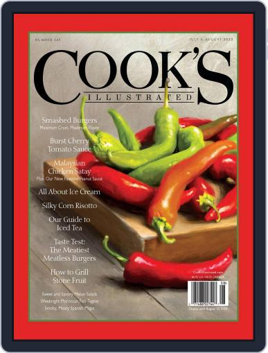 Cook's Illustrated (Digital) July 1st, 2020 Issue Cover