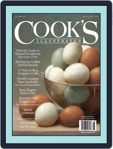 Cook's Illustrated (Digital) May 1st, 2020 Issue Cover