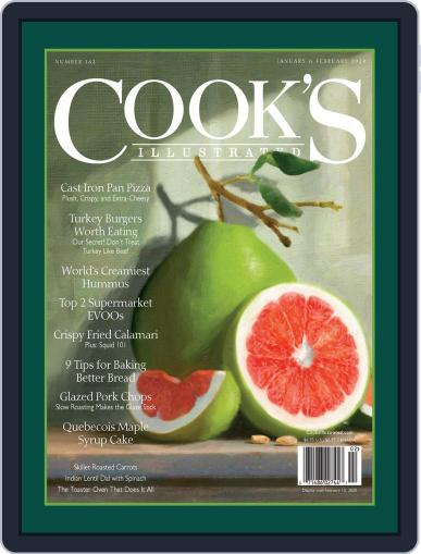 Cook's Illustrated January 1st, 2020 Digital Back Issue Cover