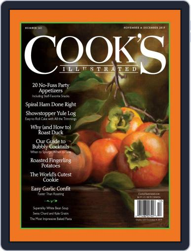 Cook's Illustrated November 1st, 2019 Digital Back Issue Cover