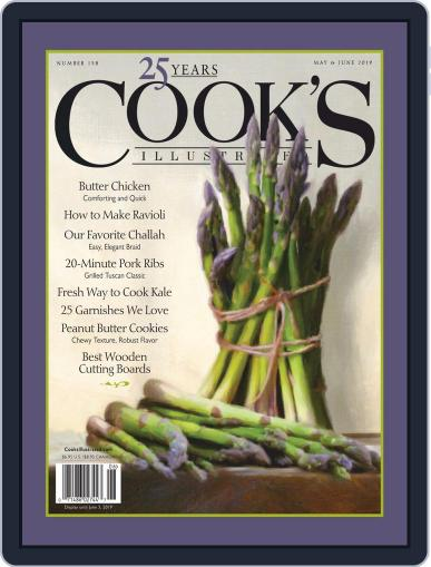 Cook's Illustrated (Digital) May 1st, 2019 Issue Cover