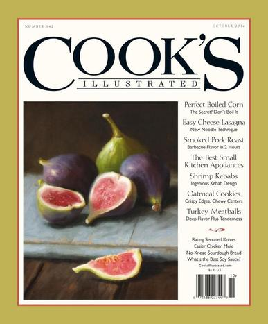 Cook's Illustrated (Digital) August 9th, 2016 Issue Cover