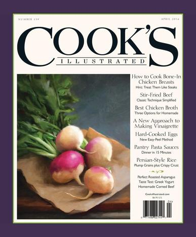 Cook's Illustrated February 9th, 2016 Digital Back Issue Cover