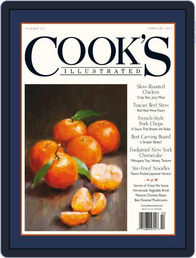 Cook's Illustrated December 15th, 2015 Digital Back Issue Cover