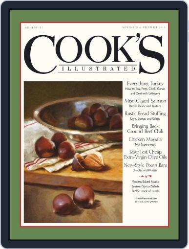 Cook's Illustrated (Digital) October 13th, 2015 Issue Cover