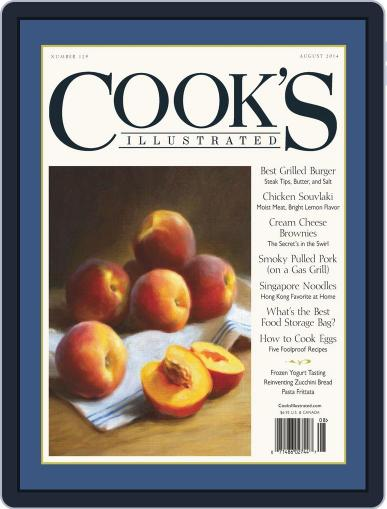 Cook's Illustrated June 10th, 2014 Digital Back Issue Cover