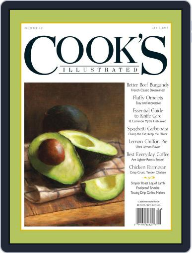Cook's Illustrated (Digital) February 12th, 2013 Issue Cover