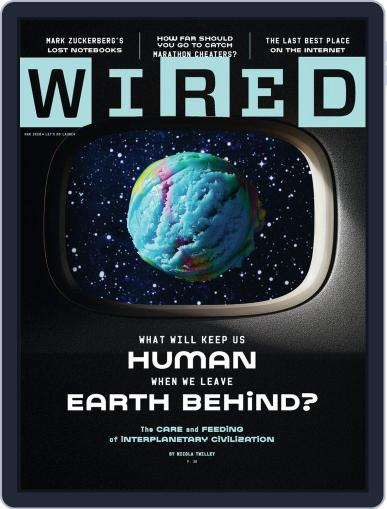 WIRED (Digital) March 1st, 2020 Issue Cover
