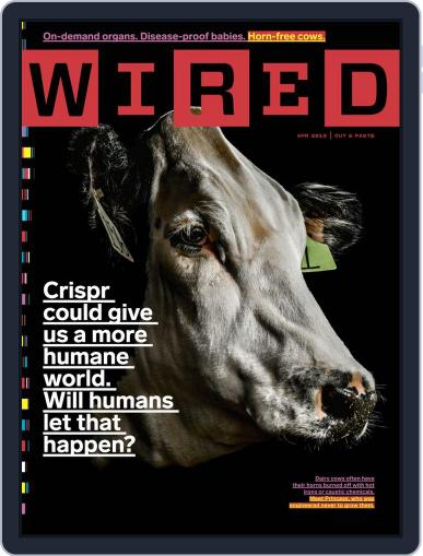 WIRED (Digital) April 1st, 2019 Issue Cover