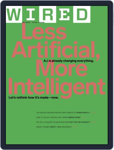 WIRED (Digital) December 1st, 2018 Issue Cover