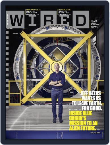 WIRED November 1st, 2018 Digital Back Issue Cover