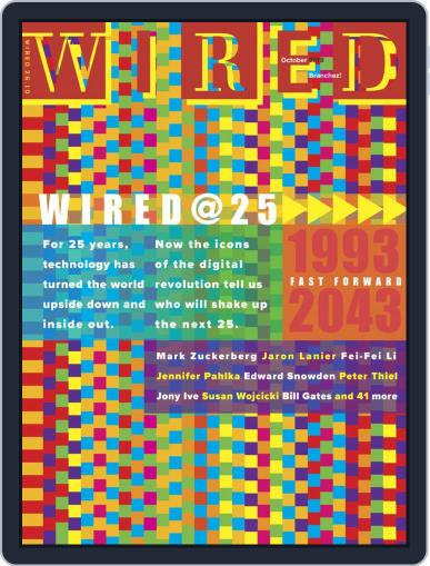 WIRED October 1st, 2018 Digital Back Issue Cover