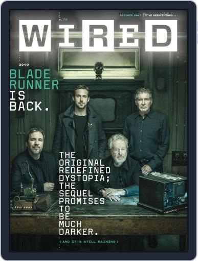 WIRED (Digital) October 1st, 2017 Issue Cover