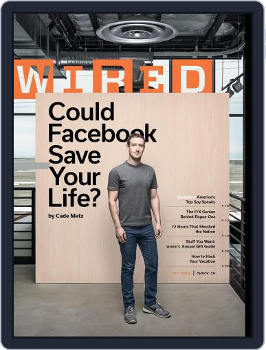WIRED (Digital) December 1st, 2016 Issue Cover