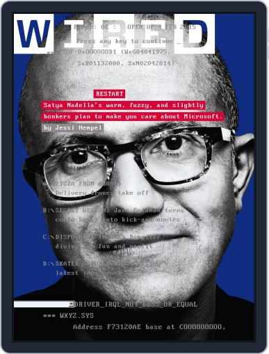 WIRED January 23rd, 2015 Digital Back Issue Cover
