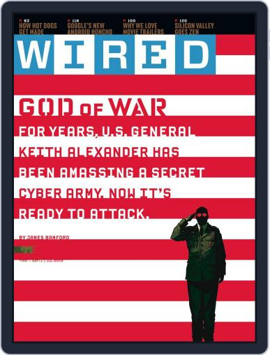 WIRED June 18th, 2013 Digital Back Issue Cover