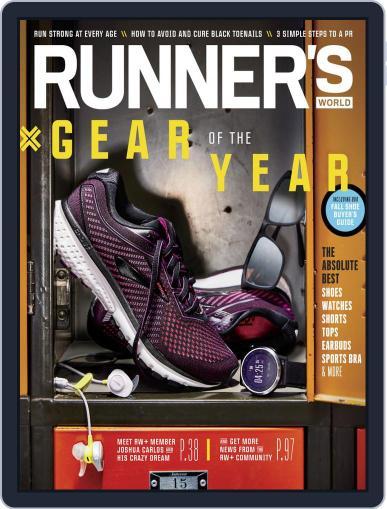 Runner's World September 1st, 2019 Digital Back Issue Cover