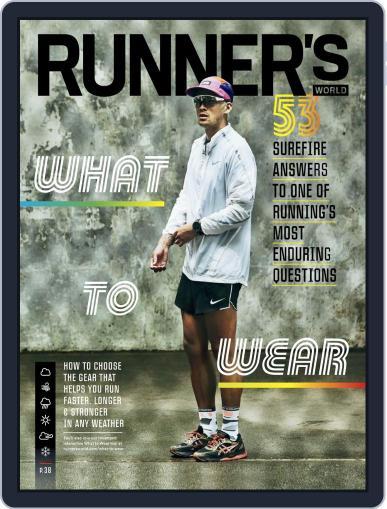 Runner's World July 1st, 2019 Digital Back Issue Cover