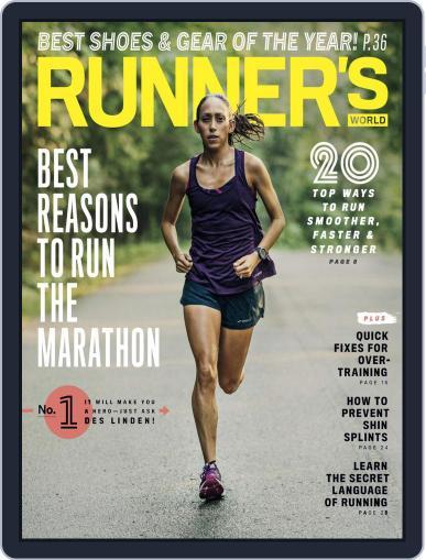 Runner's World (Digital) November 1st, 2018 Issue Cover