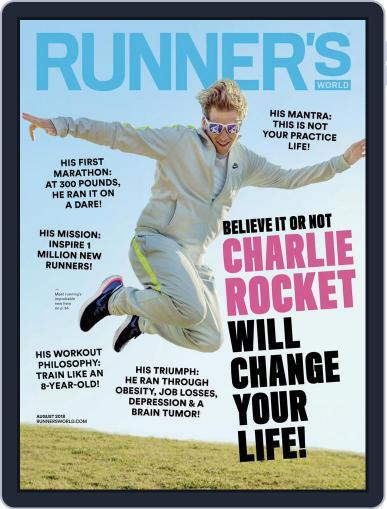 Runner's World August 1st, 2018 Digital Back Issue Cover
