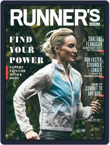 Runner's World (Digital) April 1st, 2018 Issue Cover