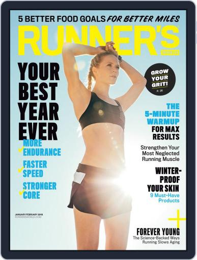 Runner's World (Digital) January 1st, 2018 Issue Cover