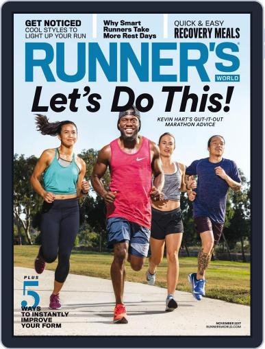 Runner's World (Digital) November 1st, 2017 Issue Cover