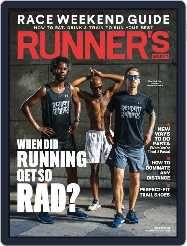 Runner's World (Digital) October 1st, 2017 Issue Cover