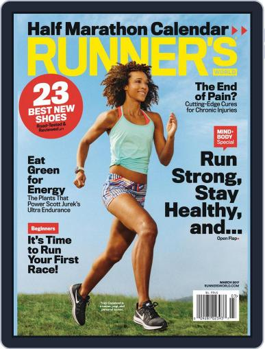 Runner's World (Digital) March 1st, 2017 Issue Cover