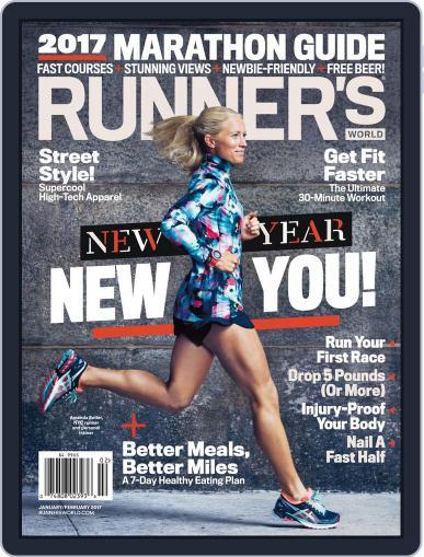 Runner's World (Digital) January 1st, 2017 Issue Cover